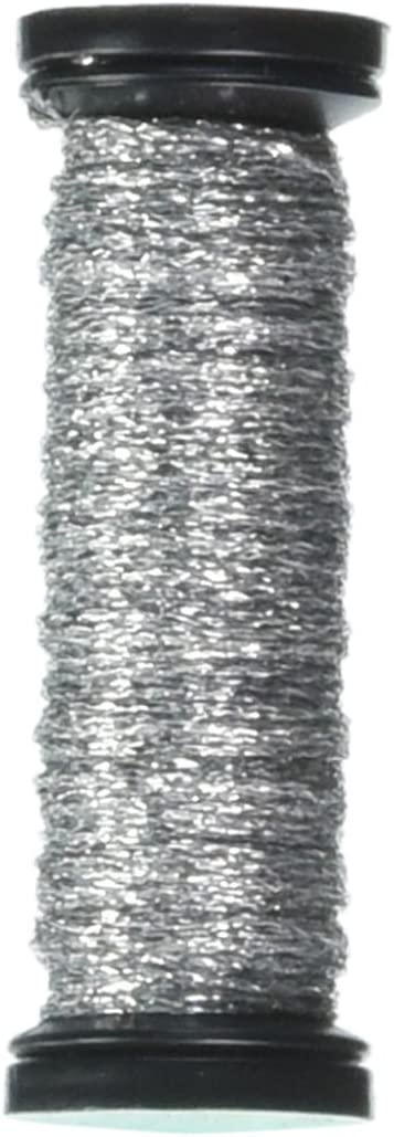 Metallic Braid #4 12yds-Silver Hi Luster