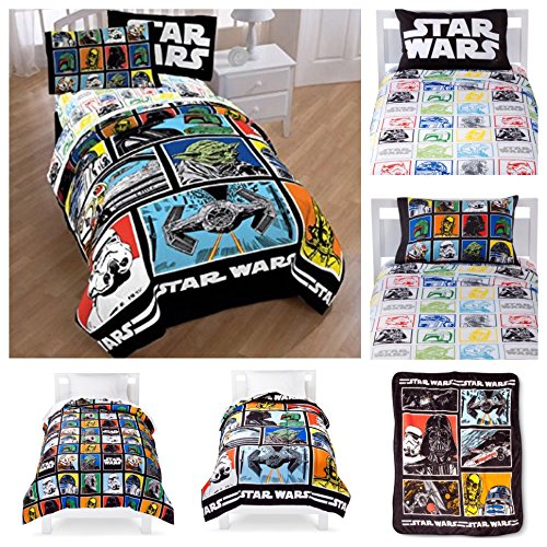 star-wars-classic-complete-5-piece-bed-in-a-bag-twin-bedding-set-reversible-comforter-sheets-pillow-