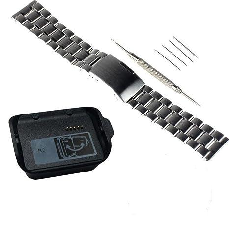 cero Inoxidable Correa de Reloj para los Relojes Inteligentes cero Inoxidable Correa de Reloj para Samsung