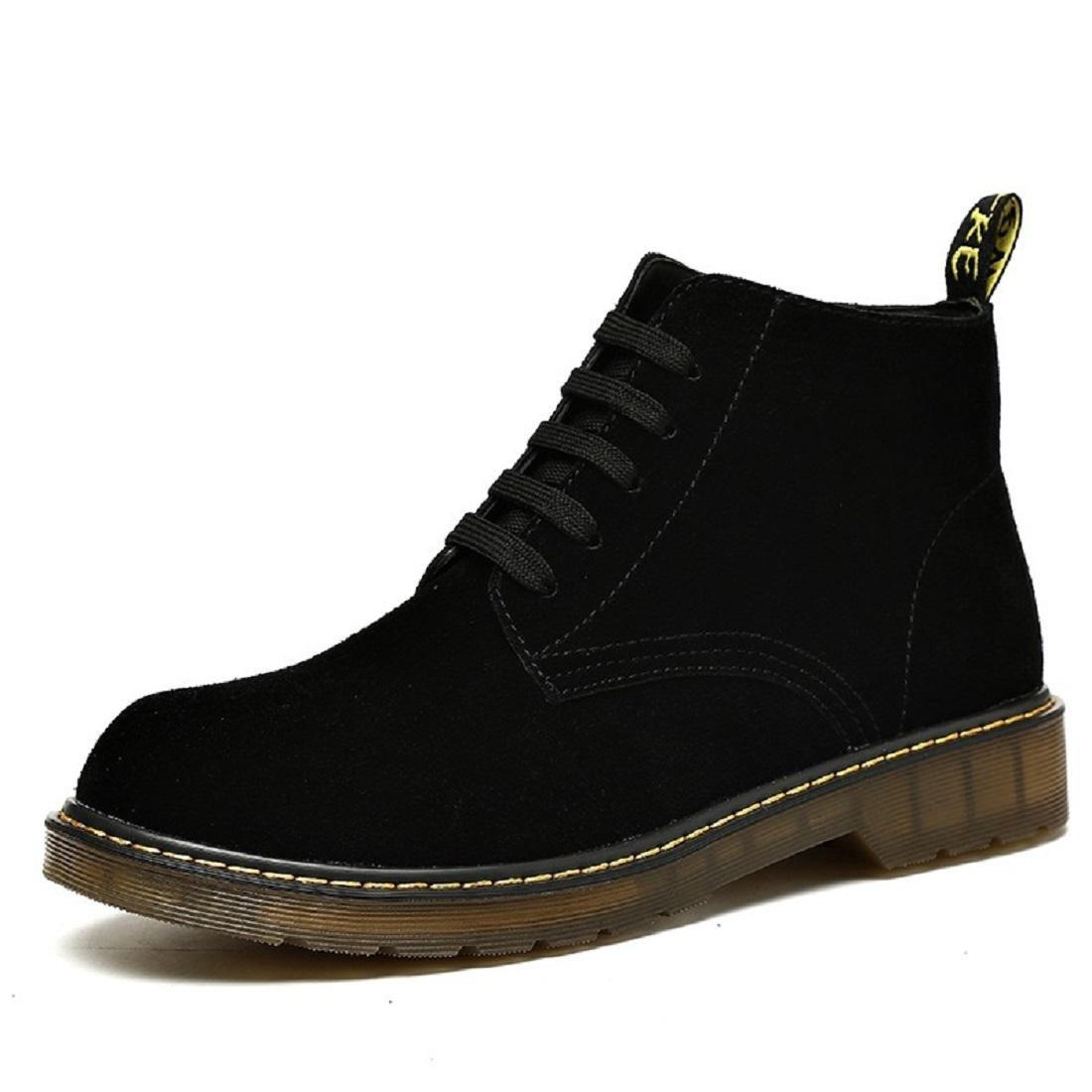 Herren Herbst Mode Martin Stiefel High-Top-Schuhe Lässige Schuhe Freizeit Flache Schuhe Füße schützen EUR GRÖSSE 38-46