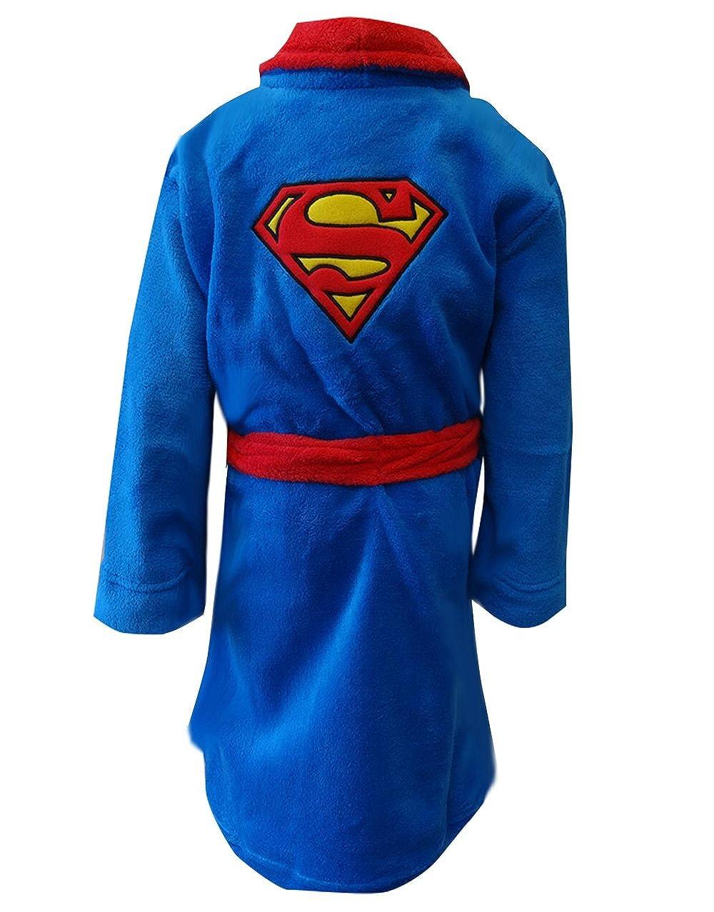 Superman - Albornoz infantil Clark Kent bordado DC Comics: Amazon ...