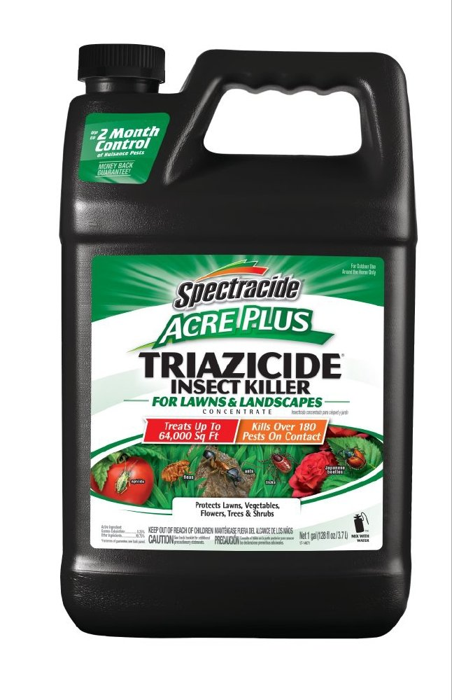 Spectracide HG-96203 Acre Plus Triazicide Insect Killer For Lawns & Landscapes Concentrate, 1-gal by Spectracide