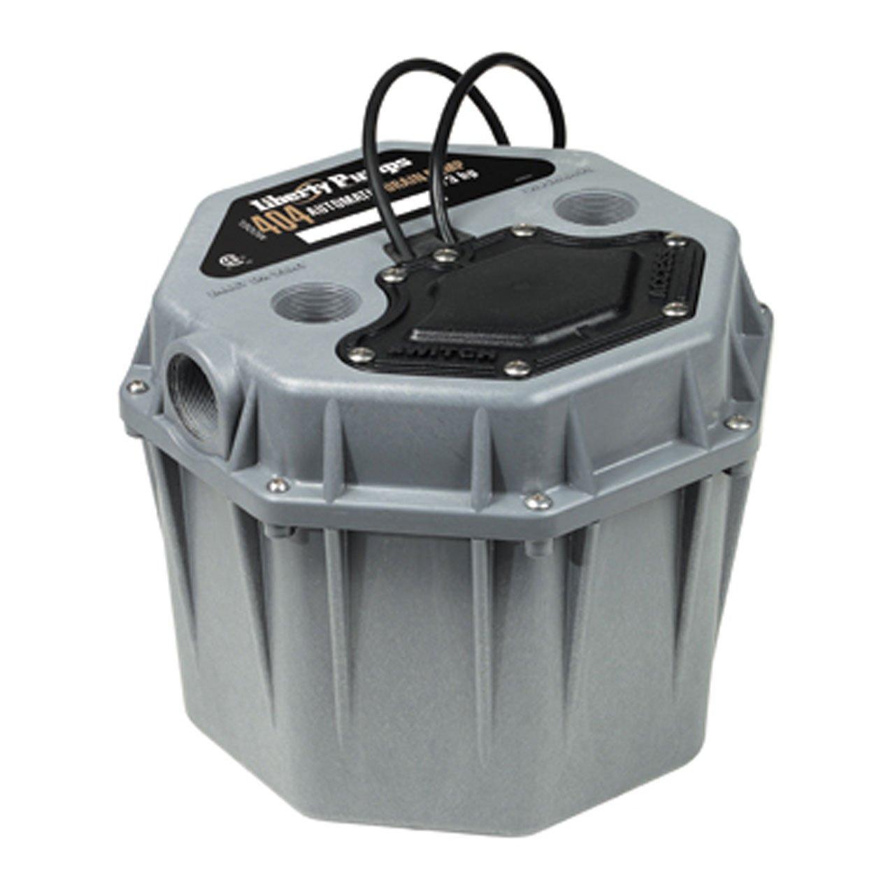 Liberty Pumps 404L Compact 1/3 HP Low Profile Drain Pump