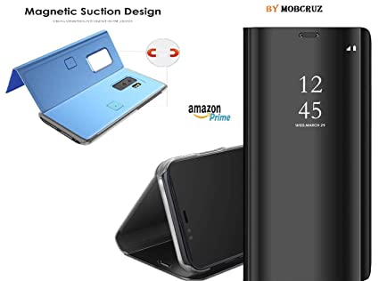 new arrival f660c 97d01 mobcruz Exclusive Smart Mirror Flip Cover Case: Amazon.in: Electronics