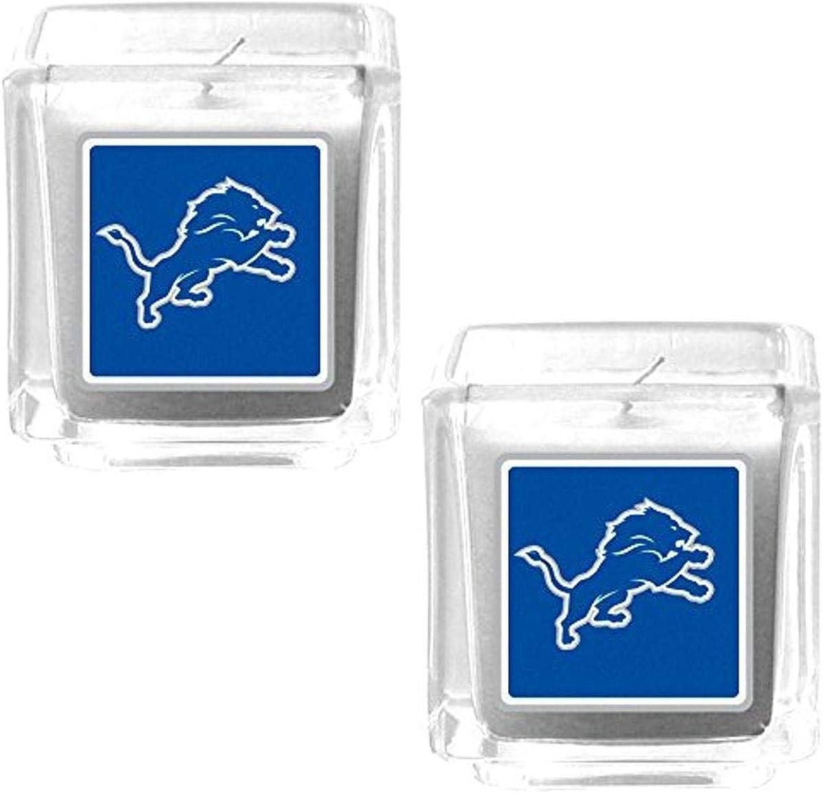 NFL Siskiyou Sports Fan Shop Detroit Lions Graphics Candle Set One Size Team Color