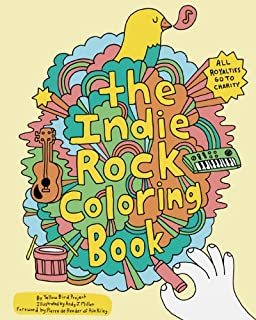 indie rock coloring book - Outside The Lines Coloring Book