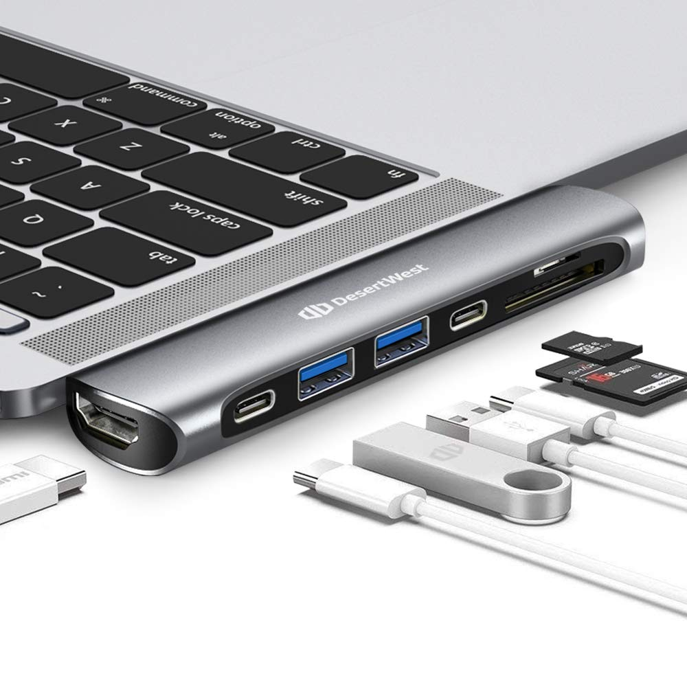 Amazon com: DesertWest Macbook Pro Adapter USB,Hub for