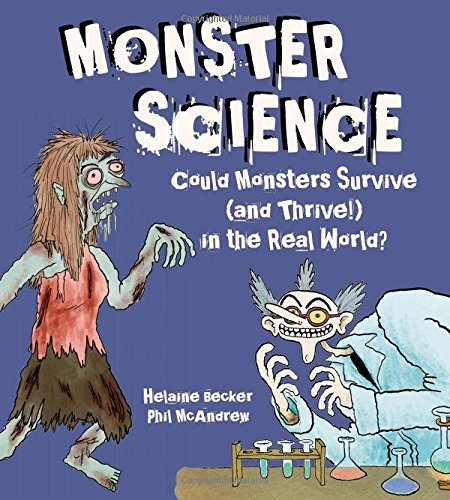 Monster Science dives into the scientific history, experiments, and facts surrounding Frankenstein, Vampires, Big Foot, Zombies, Werewolves, and Sea Monsters. Teachers could use this book as a foundation for argumentative/opinion writing, allowing students to argue which monster is most plausible or whether or not a specific monster could exist. Great any time of the year, but especially in October as Halloween approaches! #MiddleGrades #Nonfiction #Science