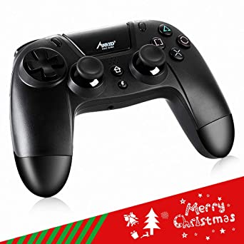 Mad Giga mando con Pantalla tácti Bluetooth 4.0 Wireless Gamepad Alámbrico/Inalámbrico,Playstation 4