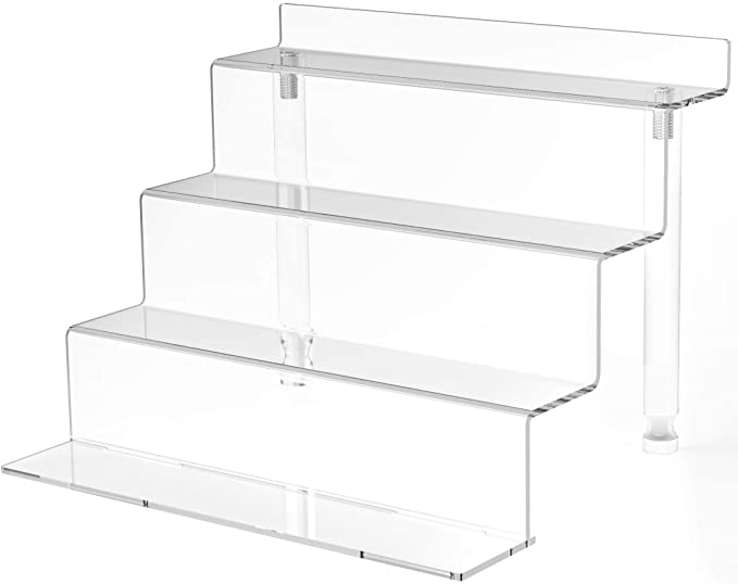 Jewelry accessories display riser display case VISUALS 4 PC