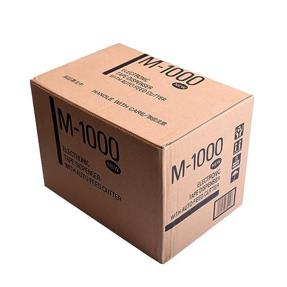 KNOKOO Dispensador electrónico automático de cinta M1000 cortador de cinta para corte de longitud 20-999mm, 5-50mm amplia cinta: Amazon.es: Bricolaje y ...