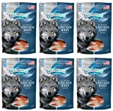 BLUE Wilderness Grain-Free Trail Treats Chicken Jerky for Dogs 1.21875lb (6 x 3.25oz)