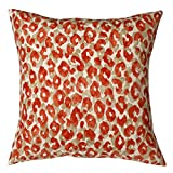 Pillow Covers Pillow Shams Throw Pillows Decorative Pillows 18 Inch Red Snow Leopard
