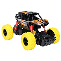 Think Wing 4WD Pull Back Monster Trucks with Music & Light High Speed Die-cast Buggy Functions Toy Cars 4 Styles Collectable Off-Road Car Gift For Kids 1:32 Scale