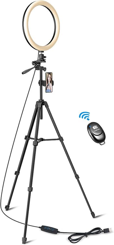 Tryone Ringlicht Mit Stativ Selfie Ringleuchte 12 Kamera