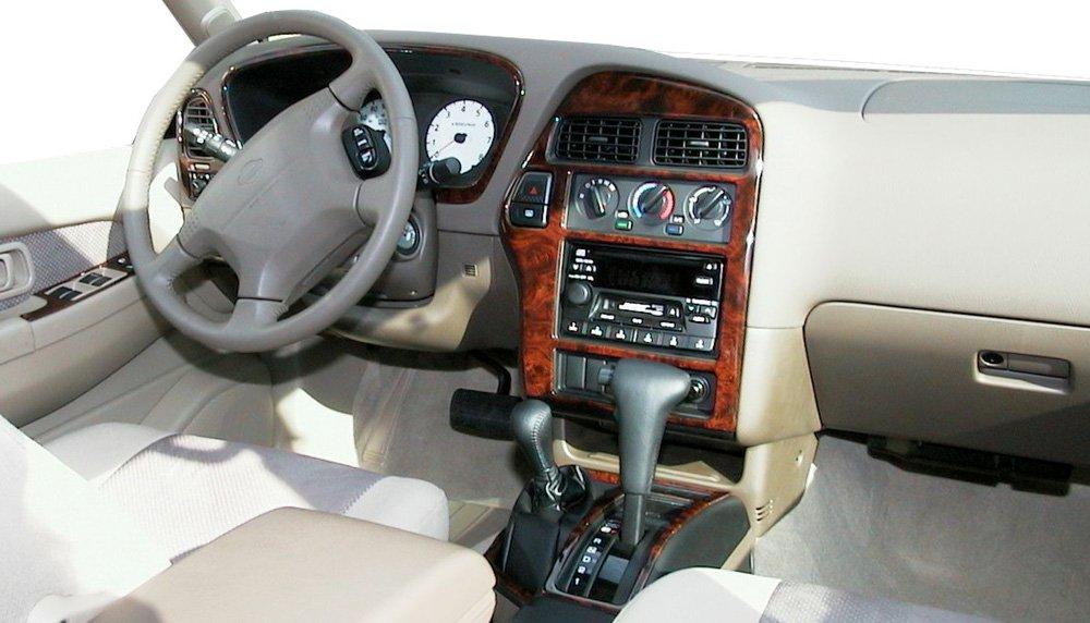 Amazon.com: NISSAN PATHFINDER INTERIOR BURL WOOD DASH TRIM KIT SET 2001  2002 2003 2004: Automotive