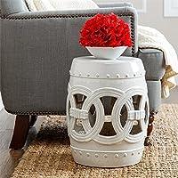 Abbyson Living Talia cerámica jardín taburete en color
