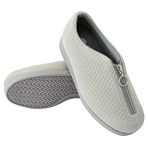 MEJORMEN Womens Extra Wide House Shoes