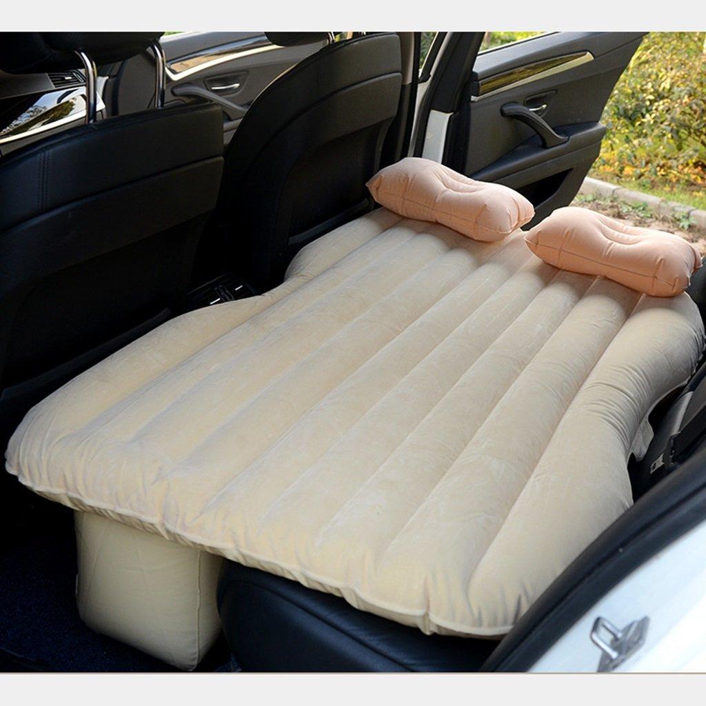車のインフレータブルマットレスエアマットレス車のショックベッドピクニックベッド旅行のインフレータブルベッド背部シートマットレスユニバーサル車のクッションキャンプエアベッド ( 色 : ベージュ , サイズ さいず : Style 2 ) B07CLN2FB9  ベージュ Style 2