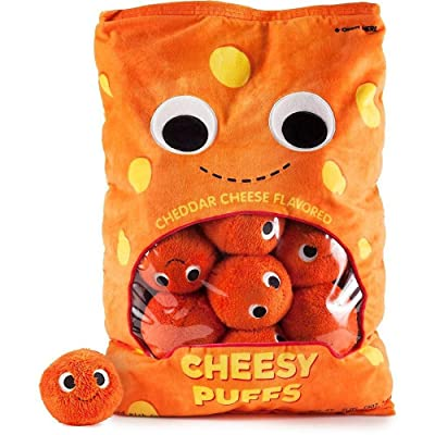 Yummyworld XL Arnold & The Puffs Cheese Puffs Plush: Toys & Games