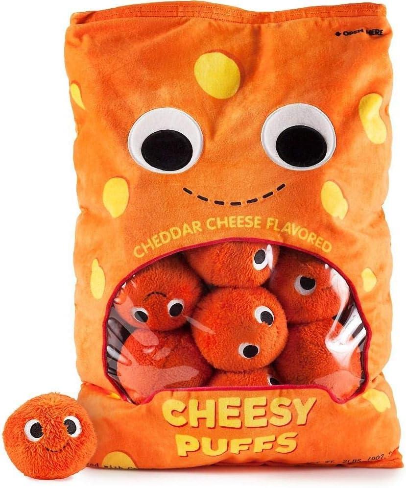 Yummyworld XL Arnold & The Puffs Cheese Puffs Plush