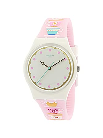 34mm Armband Unisex Gw191 Tea High Swatch Silikon Quarz Armbanduhr Multicolor Y6f7ymIbgv