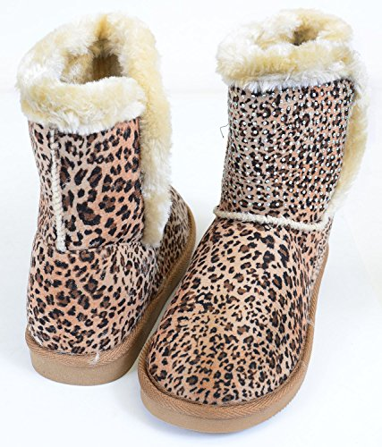 Leopard Slip-on Loafer Wedge Low-39 Fourever Funky