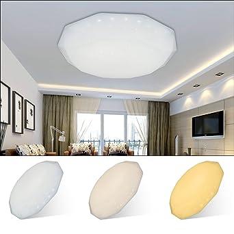 LED Deckenleuchte 12W-60W Deckenlampen  Wohnzimmerlampe Sternenhimmel Wandlampe