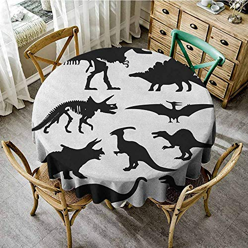 Rank-T Round Tablecloth Tuscan Theme 70
