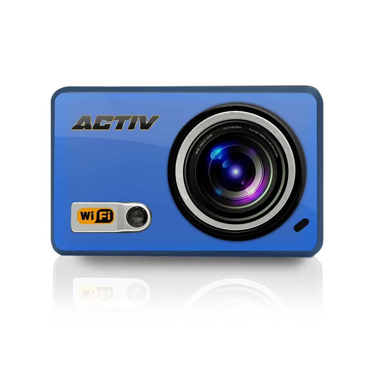 Sound Around GDV288BL HD Video Recording Gear Pro ACTIV Full HD 1080p Hi-Res Mini Sports Action Camera and Camcorder with Wi-Fi