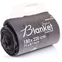 Mintra Home Blanket - Super Soft, 100% Polyester 70in x 86in (Large)