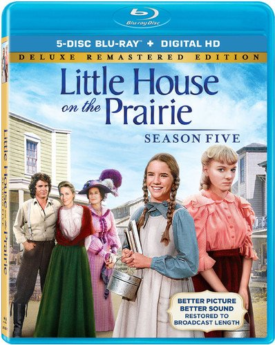 Blu-ray : Little House on the Prairie: Season 5 Collection (Boxed Set, 5 Disc)