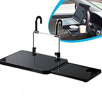 soekavia Multi Función auto Laptop mesa plegable escritorio Soporte para coche con cajón para Auto asiento