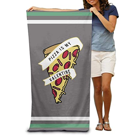 Pizza Is My Valentine Funny Pizza Adults Yoga Towel 31x51 ...
