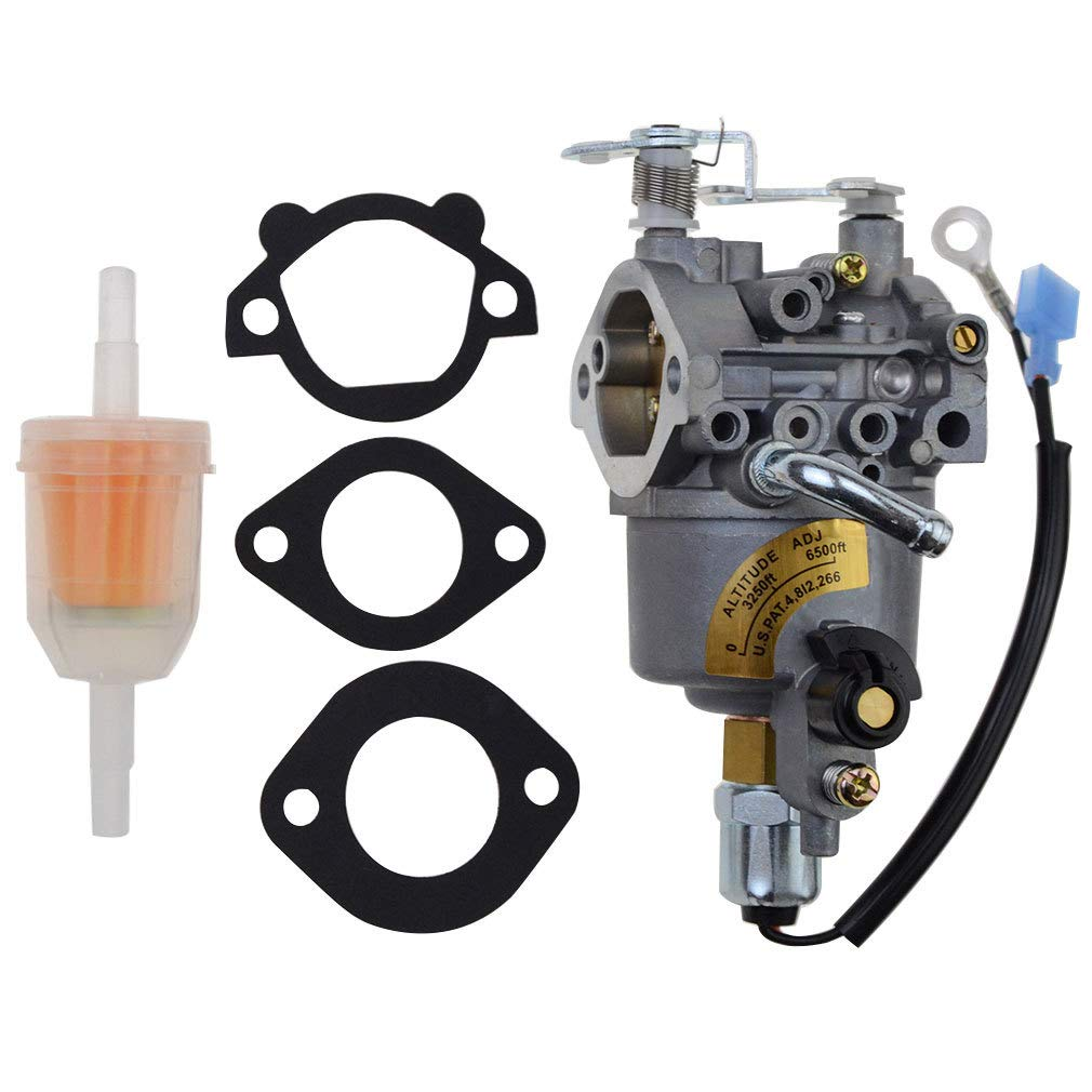 WOOSTAR Carburetor with Gaskets Replacement for Onan Cummins A041D736 Microquiet 4000-Watt 4KYFA26100 4KYFA26100P 4KYFA26100K