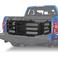 RANSOTO Black Stowable Truck Bed Extender Kit Compatible with 2015-2020 Ford F-150 F150 2017-2020 Ford Raptor Replace…