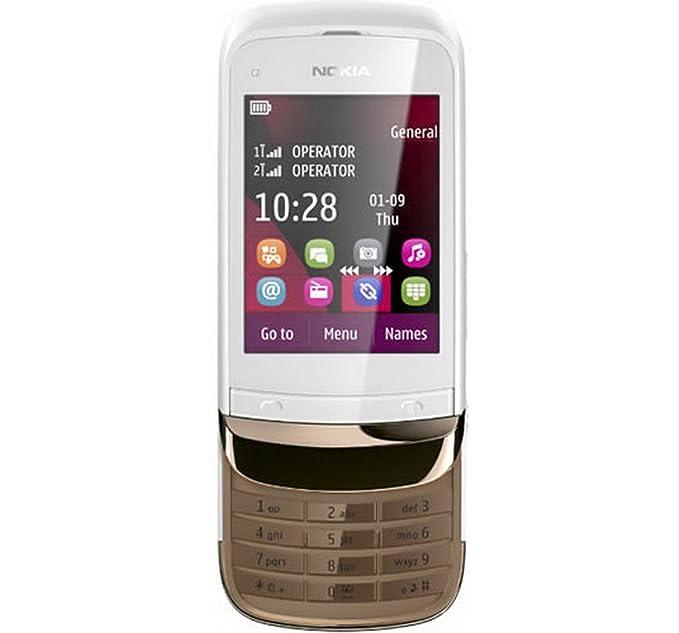 Nokia c2-03 (golden white): amazon. In: electronics.