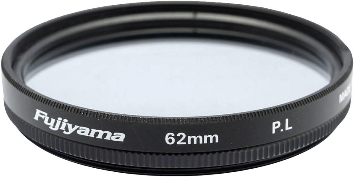 Fujiyama 62mm Polarizing Filter for Panasonic Lumix DMC-FZ1000 Made in Japan