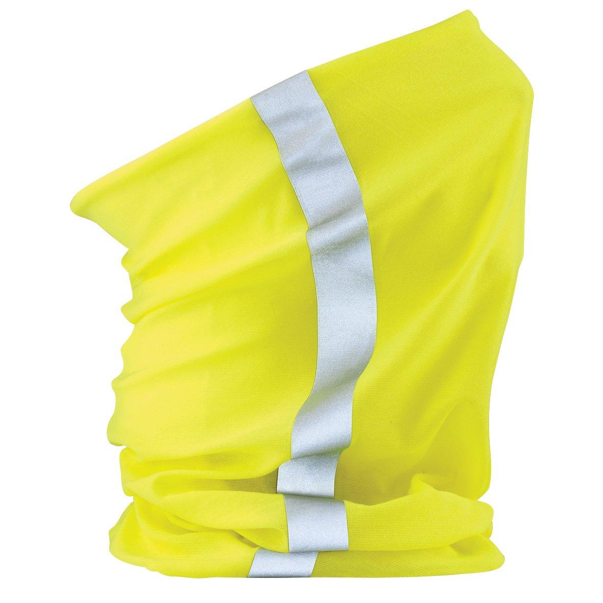 Beechfield Unisex Multi-use Enhanced-Vis Morf (One Size) (Fluorescent Pink) UTRW268_3
