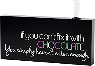 product image for Danielson Designs Fix it with Chocolate Bud Vase Sign