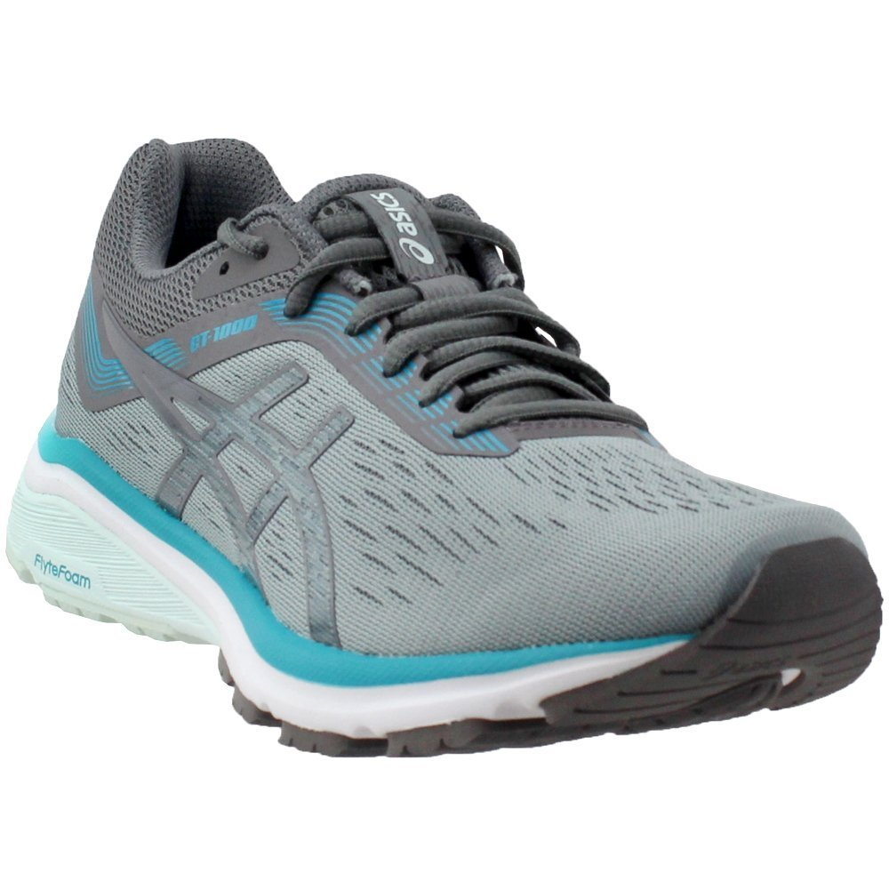 ASICS Women's GT-1000 7 (D) Running Shoe B077MQ5Z1P 10.5 D US|Stone Grey/Carbon