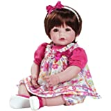 "Adora Toddler Love & Joy 20"" Girl Weighted Doll Gift Set for Children 6+ Huggable Vinyl Cuddly Snuggle Soft Body Toy"