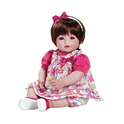 3f4833cb6b Image Unavailable. Image not available for. Color  Adora Toddler Love   Joy  20 quot  Girl Weighted Doll Gift Set for Children 6+