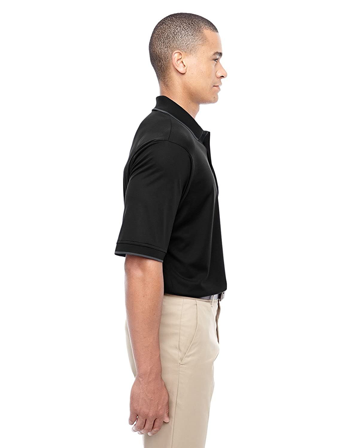 Core 365 88222 Mens Motive Performance Pique Polo with Tipped Collar