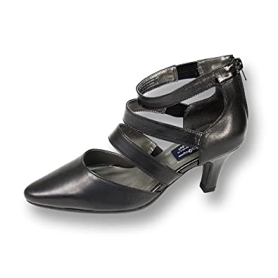 34346a976 Amazon.com | Peerage Lola Women Wide Width Leather Sexy and Nice Dress Pump  | Pumps