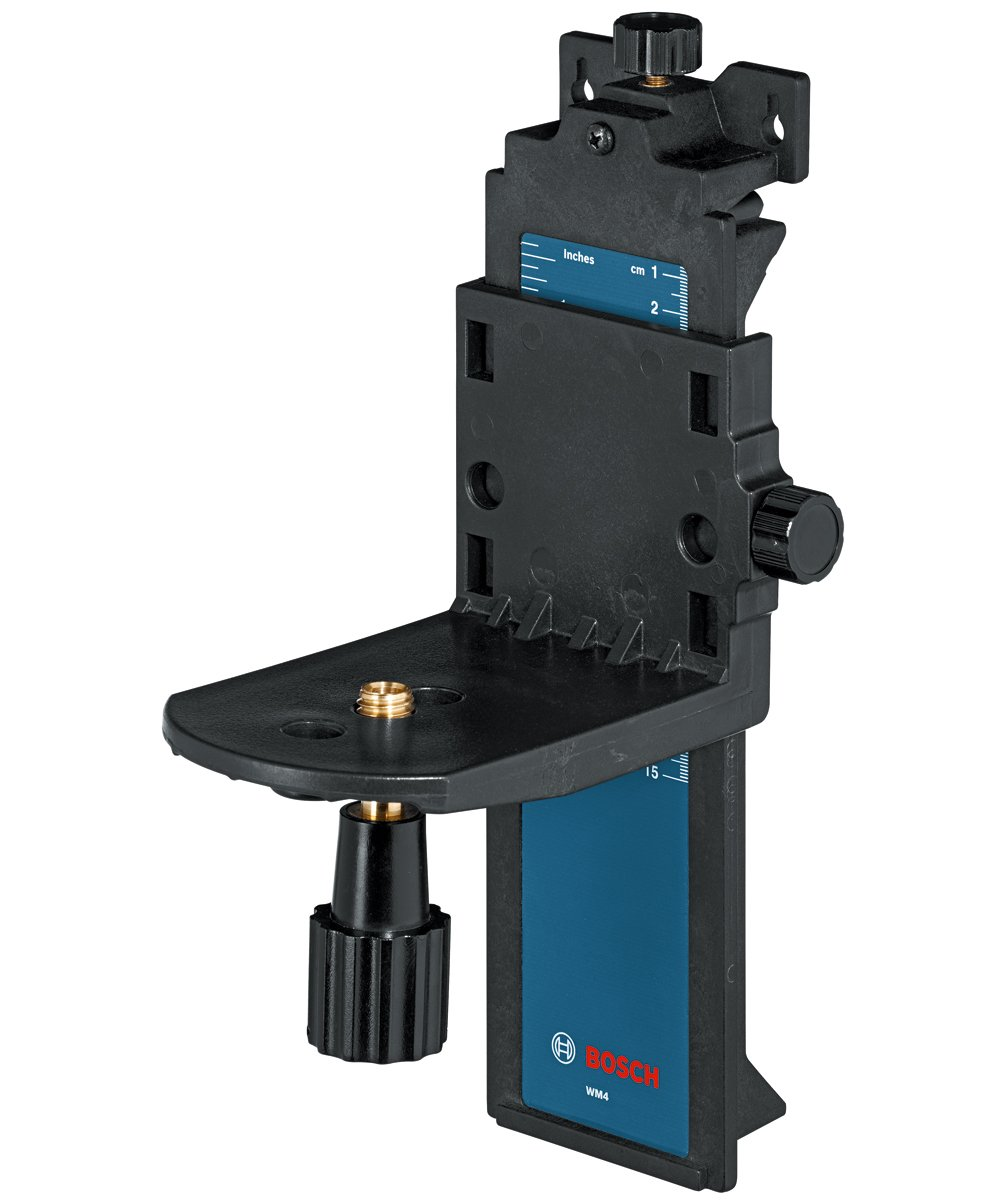 Bosch Wall and Ceiling Mount for Rotary and Line Lasers WM4