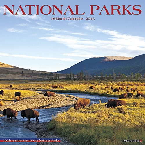 2016 National Parks Wall Calendar
