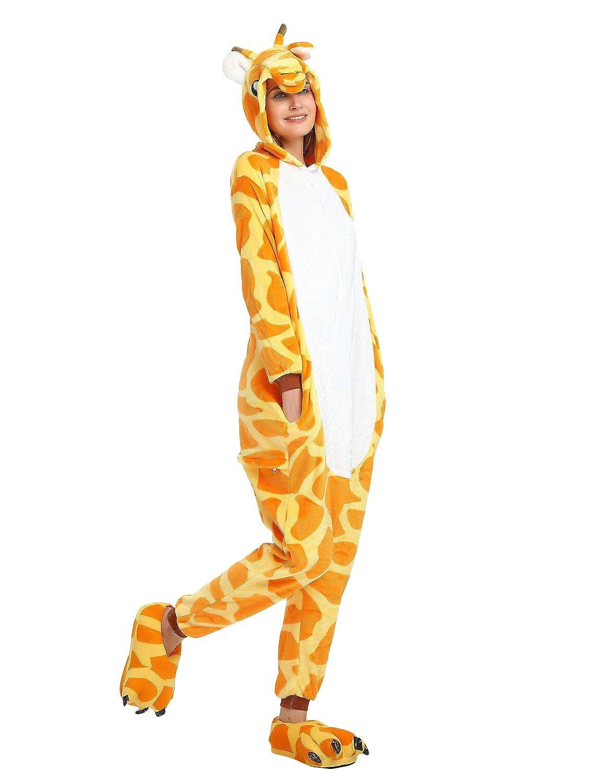 Costume Animali Cosplay Carnevale Halloween Pigiama Tuta Costumi Travestimenti Per Uomo Donne Adulti Ragazza