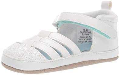 f8e7c8e466447 Ro + Me by Robeez Girls  Sandal Crib Shoe