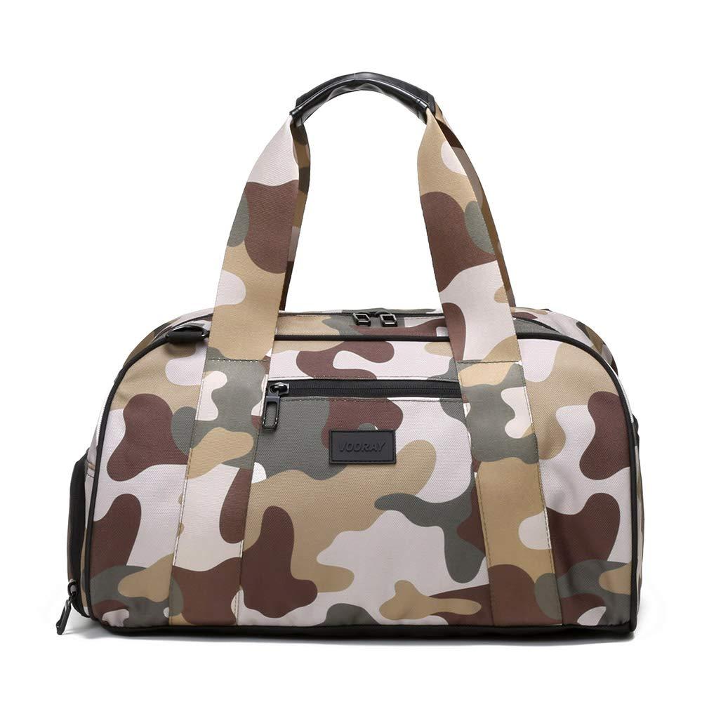 Camo Vooray Burner 16 Compact Gym Bag with Shoe Pocket